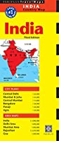 India Travel Map Third Edition (Periplus Travel Maps Country Map)