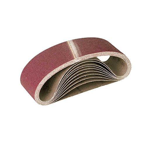 RETOL Schleifbänder, 457 x 75 mm, Korn 80, f. Handbandschleifer, Normalkorund (10 Stk.)