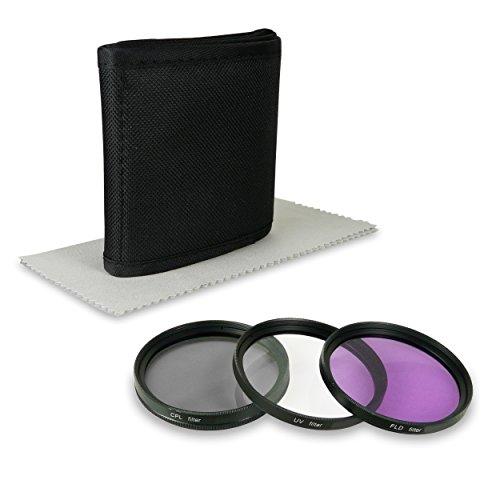 72mm Set di filtri professionale - include Filter Kit (UV, CPL, FLD)