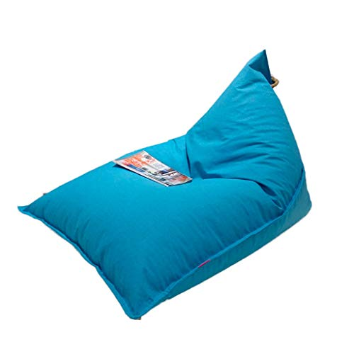 Lazy Couch Bean Bag, Casual Bean Bag Bean Bag, cómodo sofá (Color : Sky Blue)