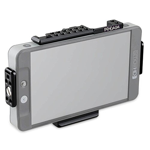 Proaim Jaula de monitor HDMI para placa de batería de montaje en...