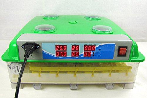 Inkubator VOLLAUTOMATISCH BK55Lux + Zubehör, 55 Eier, Brutautomat, Brutmaschine, sehr leise - 7