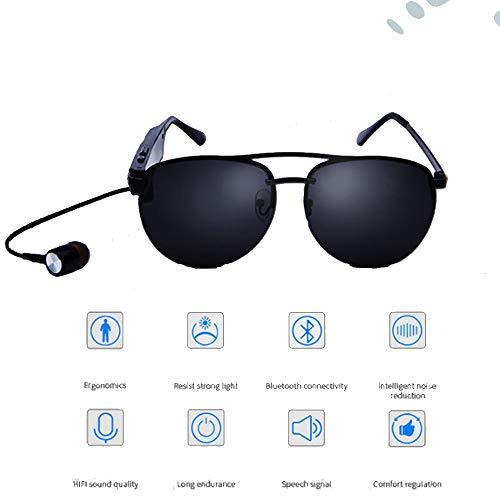 WangWDN Smart Bluetooth herenbril, draadloze headset zonnebril, muziek zonnebril, mobiele telefoon handsfree stereo, Android, iOS smartphone beschikbaar
