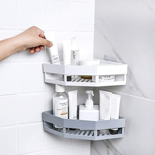 DSD Punch-Free Bathroom Shampoo Soap Holder Storage Rack