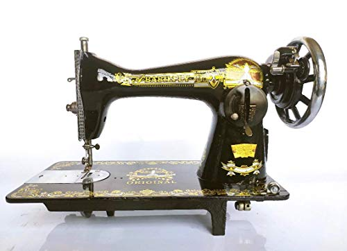 AbabilFly Semi-Industrial Heavy Duty Negrita Sewing Machine 15-91 Garment/Upholstery Leather Motor, Pedal & Light, Free Kit