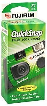 Fujifilm QuickSnap Brand new Flash 400 Disposable depot 35mm exposures Camera 27