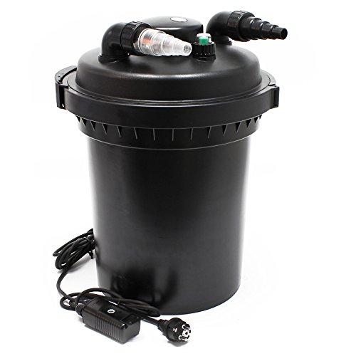 Filtro a Pressione per laghetti SunSun CPF-500 UVC 18W Depuratore per laghetti Fino a 30.000 L