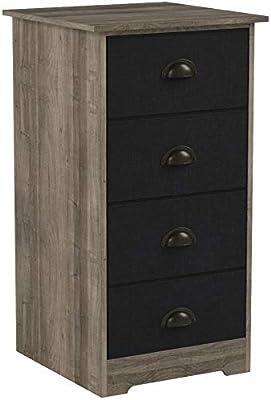 Amazon.com: Nathan James 78801 Calvin Antique Dry Oak Bedroom ...