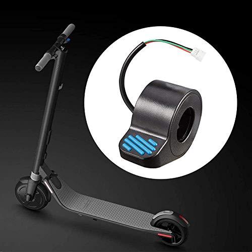 Thuron Repuesto eléctrico del accesorio del dedo del acelerador del pulgar del patinete Ninebot ES1 / ES2 / ES3 / ES4