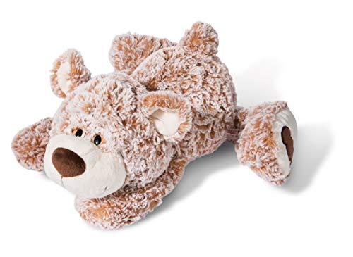 Nici 44470 Kuscheltier Daddy-Bär 50cm liegend, Plüschtier für Mädchen, Jungen, Baby, für jedes Alter geeignet, BRAUN