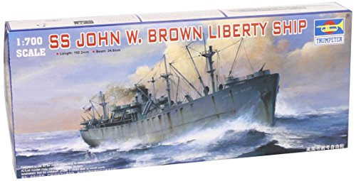 Trumpeter 05756 - Modellino da Costruire SS John W. Brown Liberty Ship