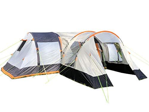 OLPRO Outdoor Loisir Products Wichenford Extension de tente Orange et gris 3 m x 2,4 m