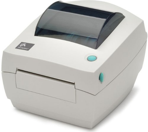 Zebra CG420d - Impresora de etiquetas (direct thermal / thermal transfer, 203 x 203 DPI, 102 mm/seg, 8 MB, 8 MB, 127 mm), color blanco (Reacondicionado)