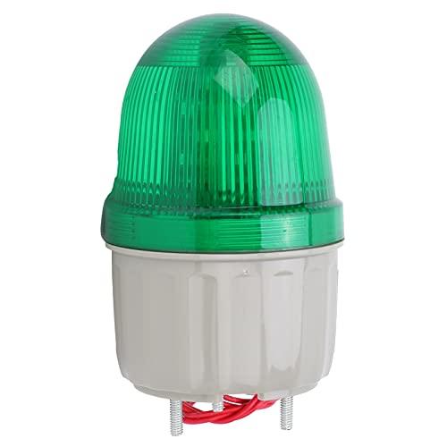 Luz de advertencia BERM, lámpara LED de ABS, sonido e iluminación, equipo de alarma para fábricas, edificios de oficinas, escuelas, agencias gubernamentales BEM-2071 5W 220V AC(verde)