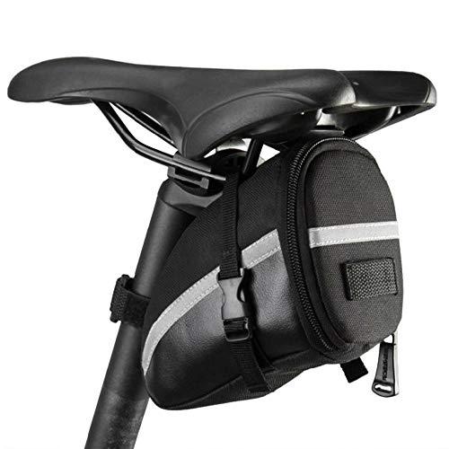 CYZJPC Bolsa para sillín de bicicleta de carrera, ciclismo, bicicleta, sillín de bicicleta, bolsa de 1,2 l, para asiento trasero panorámico