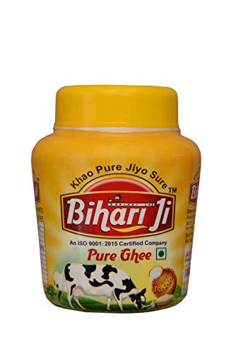 BRIJ GWALA Bihari Ji Desi Ghee Jar (1 L)