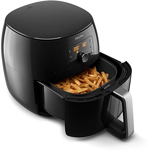 Philips HD9762 / 90 Airfryer XXL - the original (2225 W, hot air fryer, for...