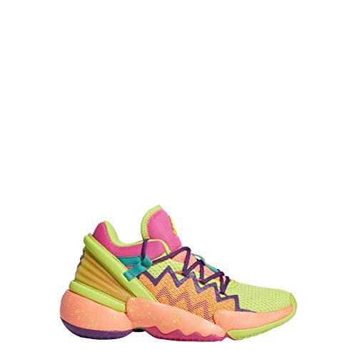 adidas D.O.N. Issue 2 J, Zapatillas de Baloncesto, TMSHPN/Seliso/FTWBLA, 36 EU