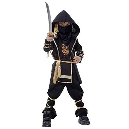 ZSM Disfraces de Kinder Da Escenario de Funcionamiento Festivas de los Trajes de Vestir Equipo de Halloween del Muchacho de Cosplay del Equipo de los nios YMIK (Size : M)