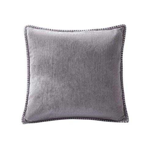 Chenille kussensloop Kussensloop Linnen bijgesneden Custom-made Decorative Pillow Case for Slaapbank Living Room aijia (Color : H)