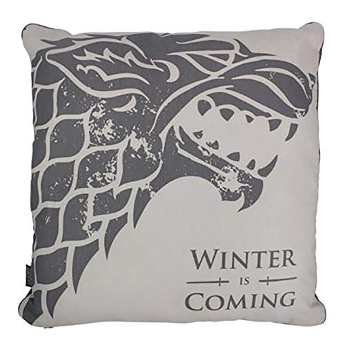 Official Licensed Game of Thrones - Cushion (Stark)