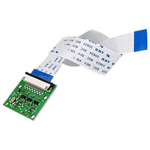 Timagebreze Modulo Fotocamera 5MP 1080P con Sensore Video Webcam OV5647 per Modello Raspberry Pi 3B + / 3B / 2B con Cavo Flessibile