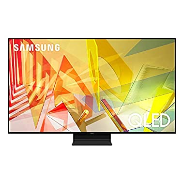 Samsung 85-inch Class QLED Q90T Series - 4K UHD Direct Full Array 20X Quantum HDR 16X Smart TV with Alexa Built-in, QN85Q90TAFXZA, 2020 Model