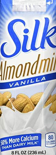 Silk Pure Almondmilk Vanilla, 8 Ounce, 18 Count