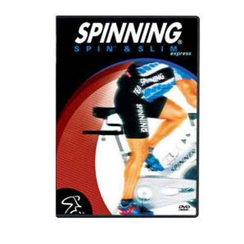 SPINNING® Fitness DVD Spin und Slim - Bicicletas estáticas Fitness (Interior), Color n/a, Talla NA