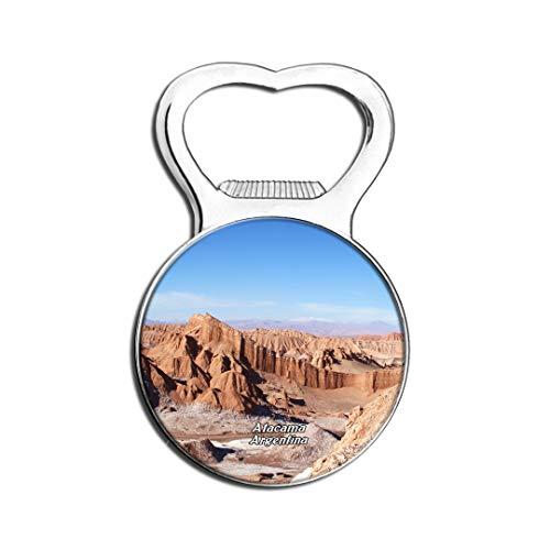 Weekino Vallée De La Lune San Pedro De Atacama Chili Aimant De Réfrigérateur Bière Ouvre-Bouteille Ville Voyage Souvenir Autocollant de réfrigérateur Fort