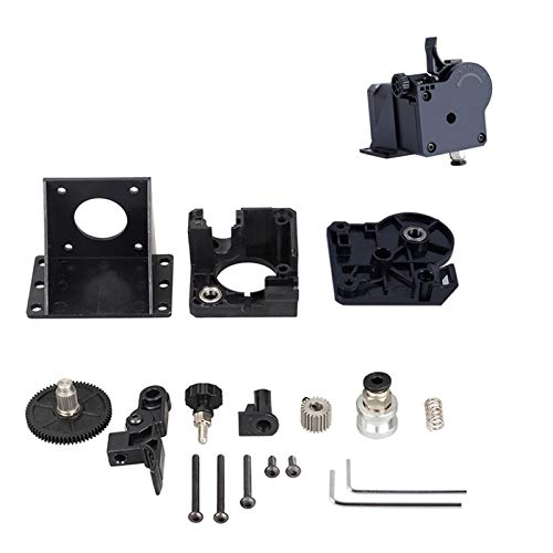 Redrex Verbesserung Bowden Extruder Bausatz für 3D Drucker wie Ender3 CR10 Serie und andere kompatible 3D Drucker mit V5, V6 oder J Head Hotend [Übersetzungsverhältnis 3:1]