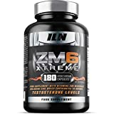 ZM6 Xtreme - High Strength - Zinc & Magnesium which support normal Testosterone Levels, the Immune System and Muscle Function - also features Vitamin D - 180 Vegetarian Capsules