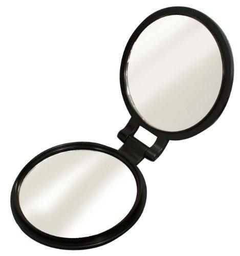 10倍拡大鏡付き両面コンパクトミラーYL-10