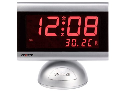 Cresta WI930 LED wekker met thermometer