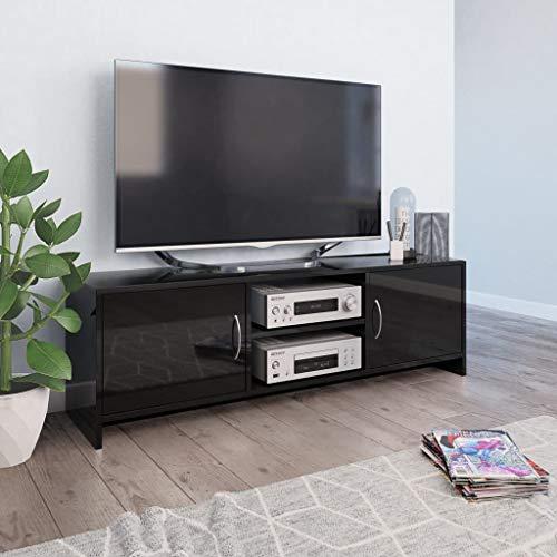 ikea tv meubel hoogglans zwart