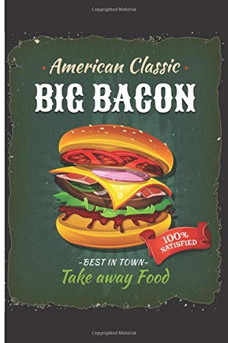 American Classic Big Bacon: 120 Outfit Planner Pages - 6