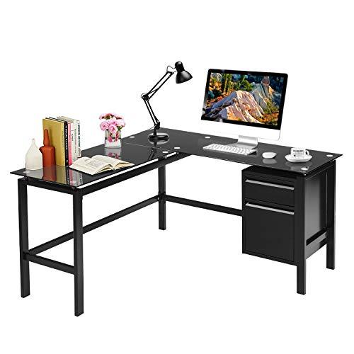 corner table for offices L Shaped Desk 56
