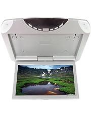 KDX Audio KIN035450 - Monitor de Techo (USB, SD, Altavoces Integrados) Color Gris