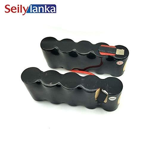 Seilylanka 3000mAh per Black Decker 12V Ni MH Pacchetto batteria CD aspirapolvere PD1200 H1 per l'auto-installazione