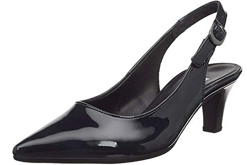 Gabor Shoes Damen Fashion Pumps, Schwarz (Schwarz (+Absatz) 77), 40 EU