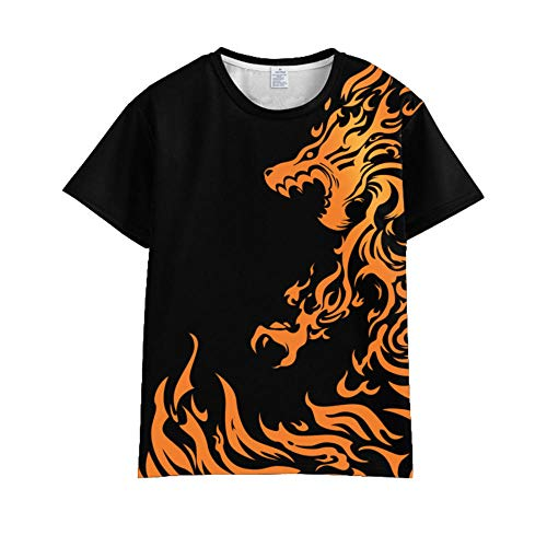 KMNL-Naruto Anime 3D Impresa Camiseta, Sharingan Akatsuki Uchiha Madara Casual Sweatshirts, Manga Corta Sudadera, Unisexo-2_SG