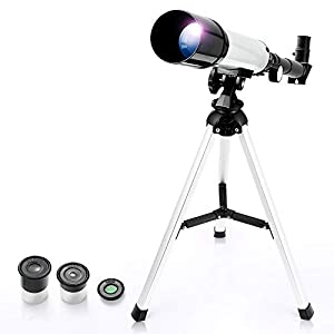 Telescopes for Astronomy 60/900 Zoom HD Outdoor Monocular Space Telescope with Aluminum Alloy Tripod - Uverbon