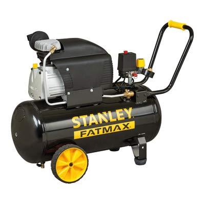 Stanley Fatmax - Compresor profesional de 50 litros, 251/10/50S, 2,5 HP