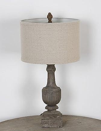 Amazon.es: mesas rusticas comedor - Lámparas de escritorio ...