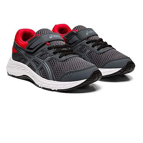 Asics Contend 6 PS, Zapatillas para Correr de Carretera Unisex Niños, Carrier Grey/Sheet Rock, 28.5 EU
