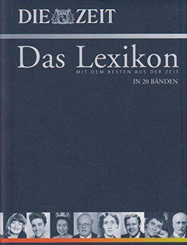 Die Zeit - Das Lexikon in 20 Bänden