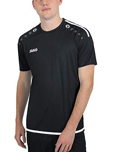 JAKO Herren Trikot Striker 2.0 KA, schwarz/weiß, XXL, 4219