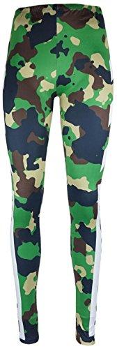 mygoodtime Leggings Sporthose Damen Yoga lang Camouflage Militär Style Workout Muster inkl. Einkaufswagenchip