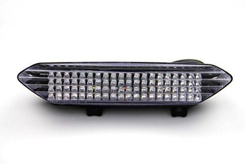 LED-Bremslicht mit integriertem Blinker für Yamaha YZF R1 2002/2003 und Quad YFM Raptor 700 (klar)