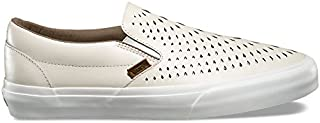 Men Classic Slip-On Dx - Havana Perforated Leather White